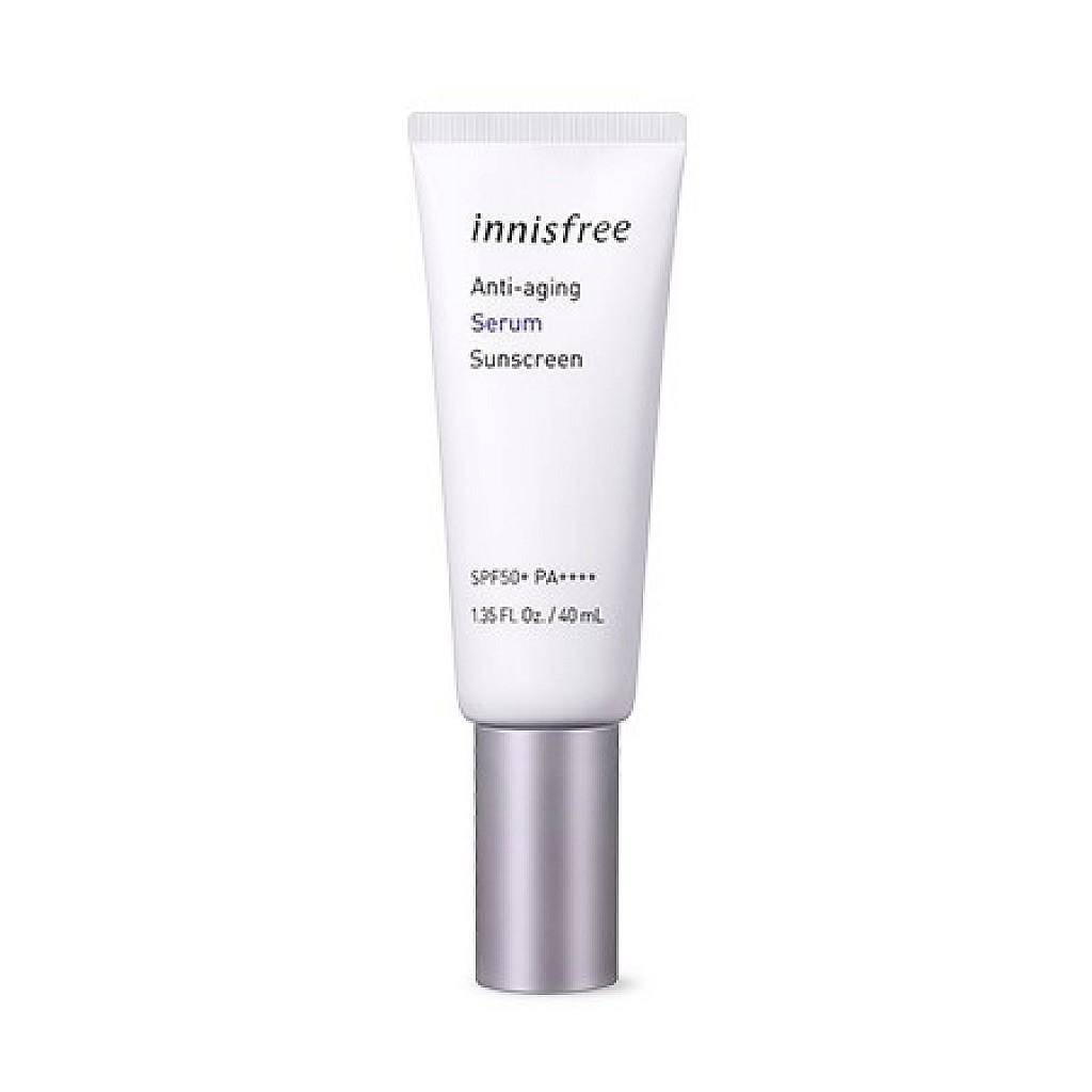 Innisfree Anti-aging serum Sunscream 抗氧化防曬霜