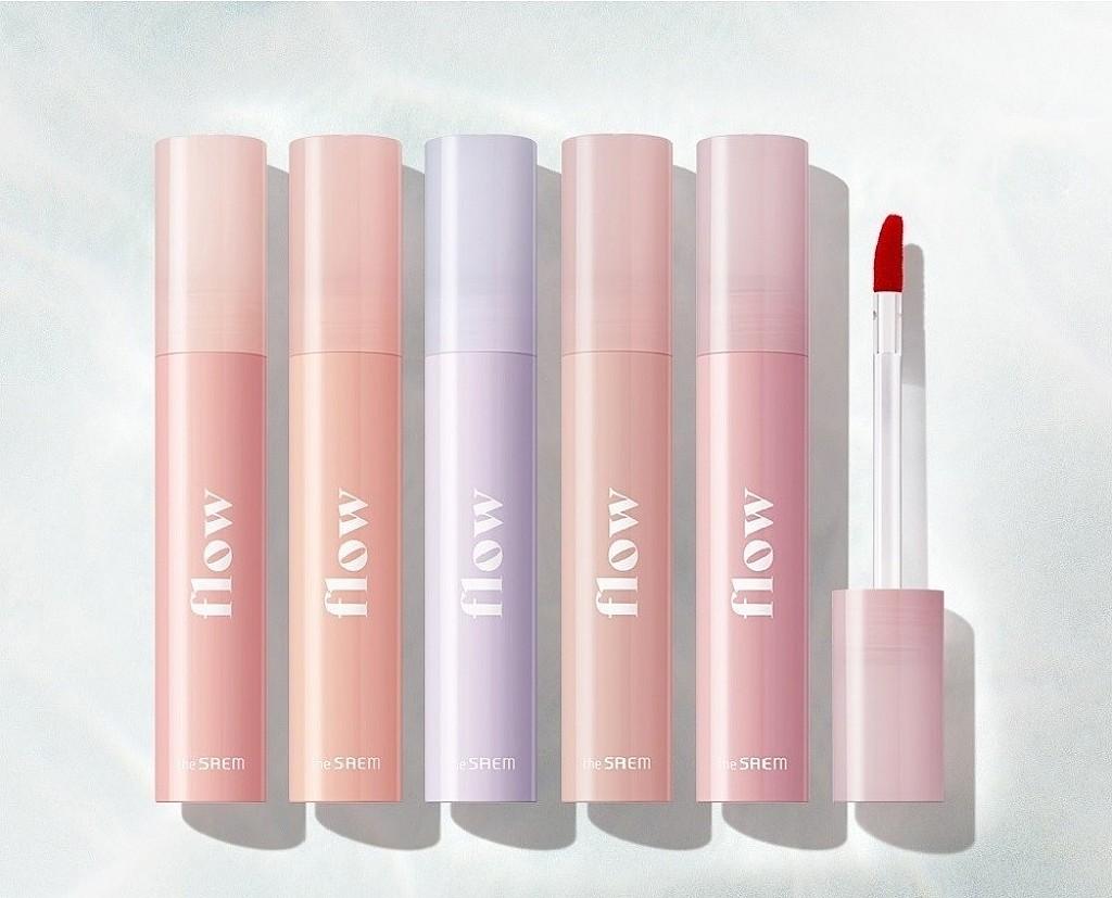 The Saem Flow Lip Glow Tint 鏡光水唇釉