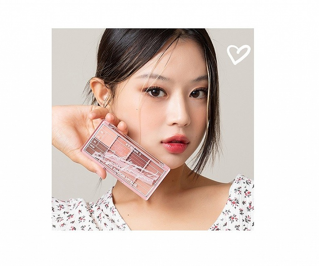 Peripera Mood Note Eye Shadow Palette 心情筆記八色眼影盤
